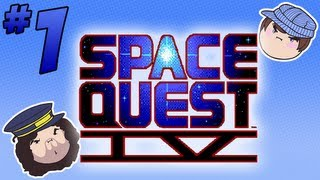 Space Quest IV: A Quest in Space - PART 1 - Steam Train
