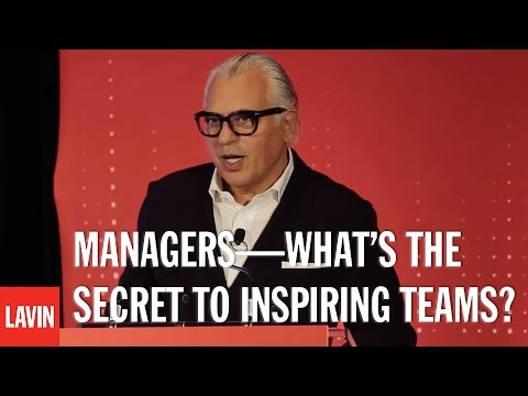 Joe Mimran: Managers—What's the Secret to Inspiring Teams?