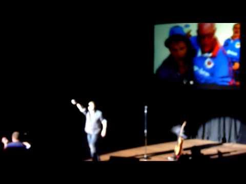 Bloubul Steve Hofmeyr in NZ