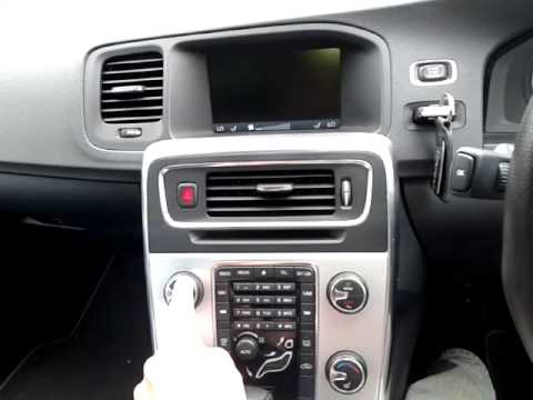 Volvo V60 S60 problem with radio audio not working
