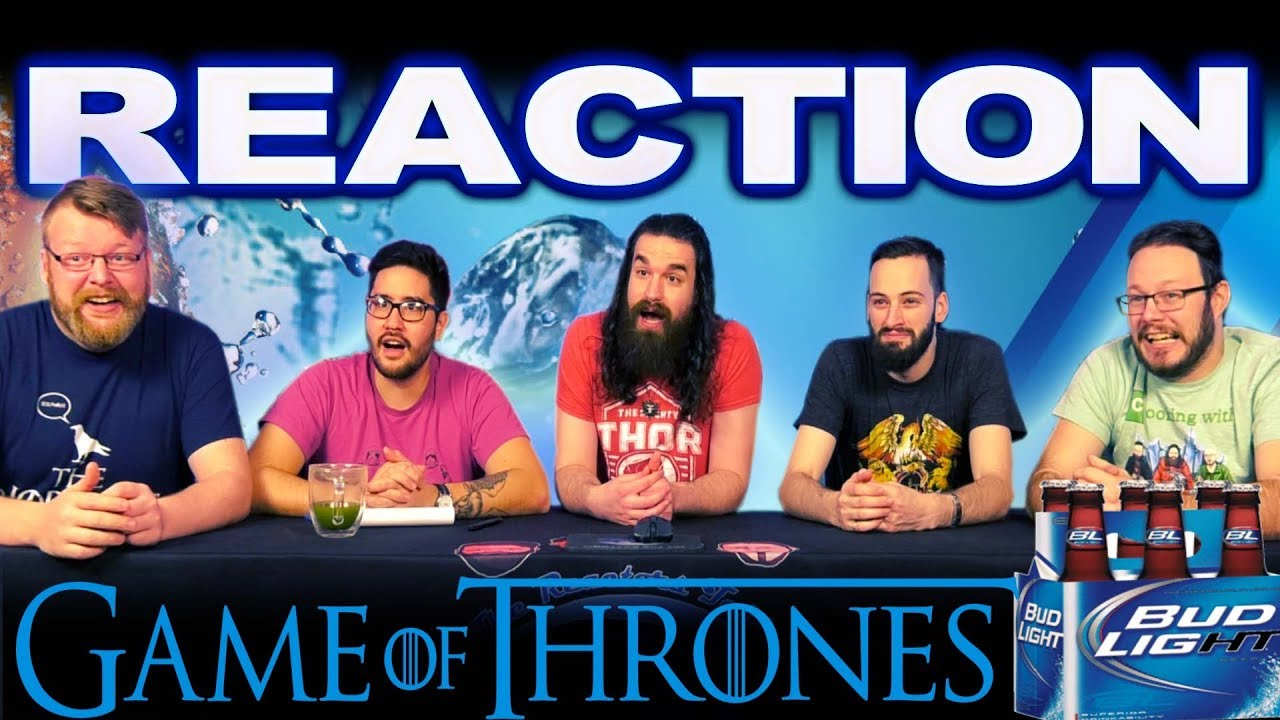 Game of Thrones X Bud Light | Official Super Bowl LIII Ad REACTION!!