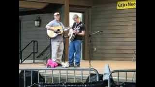 Jacob Wright Banjo Bugle Call Rag 8th place @ Galax Fiddlers Convention (Jack Hinshelwood guitar))