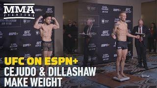 UFC Brooklyn: T.J. Dillashaw, Henry Cejudo Make Weight - MMA Fighting