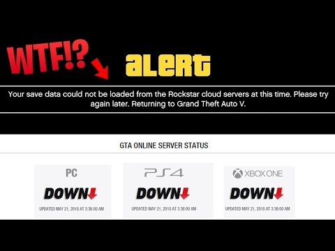 GTA Online SERVERS DOWN for Hours Explained - WTF is Going On!?