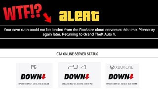 GTA Online SERVERS DOWN for Hours Explained - WTF is Going On