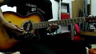 """Gambar cover Lestari - Terima Kasih Segalanya Cover (Akustik Gitar Karok) """"HQ Audio""""."""