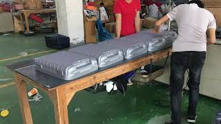 ABS.PC Luggage Fabrication in Production