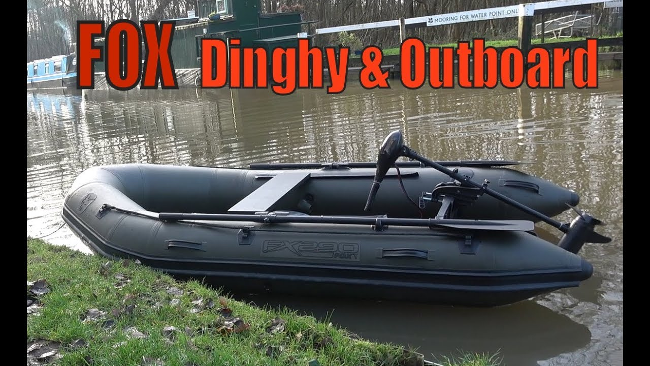 FOX Inflatable Boat and 65lb Electric Motor