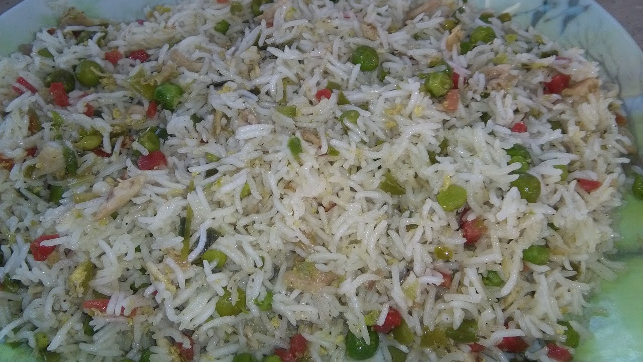 Cooking chinese fried rice recipe in urdu