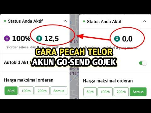 gojek #gojekgacor Cara mudah mendapatkan order di versi 4.21 terbaru | tips gojek..