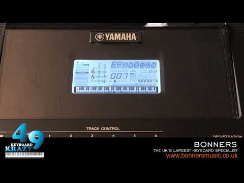 The New Yamaha PSR-EW410 Keyboard - 30 Demonstration Songs