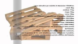 Pallet in legno a 2 vie Video