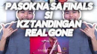 KZ Tandingan - REAL GONE Halimaw Performance - Singer 2018 REACT