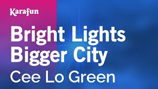 Gambar cover Karaoke Bright Lights Bigger City - Cee Lo Green *