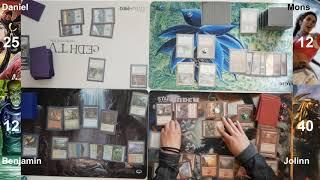 Sisay vs Azami vs purphoros vs Momir cEDH gameplay
