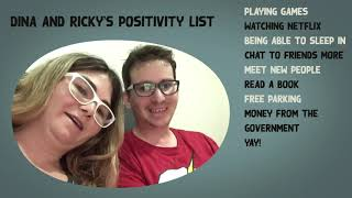 Dina and Rickys find some positives in covid-19