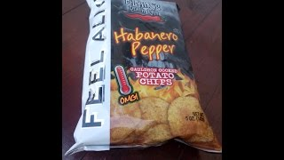 Chilli Test - Blair's Death Rain Habanero Pepper Chips