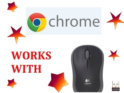 Acer C7 Chromebook How To Connect Wireless Mouse Youtube