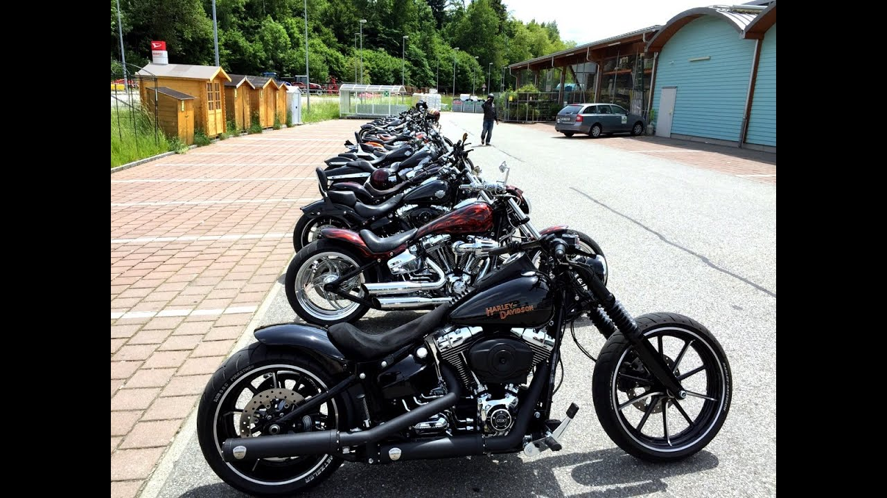 989f3142fc5a Harley Davidson Breakout Friends Meeting Switzerland 31.05.15 - YouTube