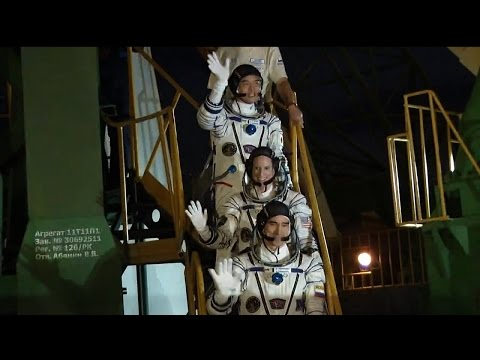 Expedition 48-49 launches to the ISS
