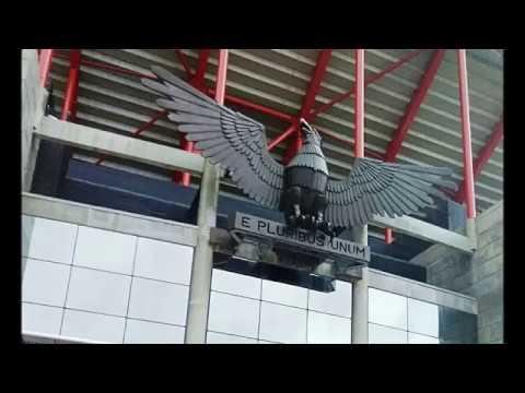 Estádio do Benfica em Lisboa - Sport Lisboa e Benfica . SLB