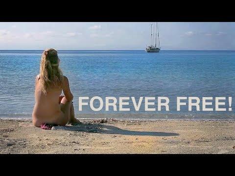"""Ep 27, Corsica 4, Roccapina"""" Forever Freee"""". Sailing Mediterranean Sea - Navegar A Vela"""