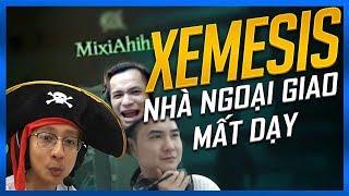 XEMESIS - NHÀ NGOẠI GIAO MẤT DẠY | CƯỚP BIỂN CÙNG MIXI, SNAKE, XEME