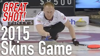 Brad Jacobs - Hit And Upward Roll - Pinty's Tsn Skins Game