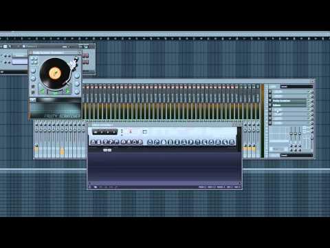 FL Studio 10 Tutorial: [Advanced] - Hip Hop DJ Scratches