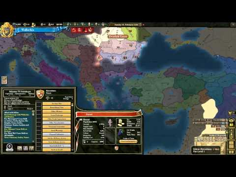 Wallachia 01 Europa Universalis 3 III Divine Wind Death and Taxes Let's Play