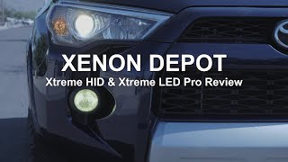 4Runner Xtreme HID and Xtreme LED Pro Kit from Xenon Depot   Review and Install