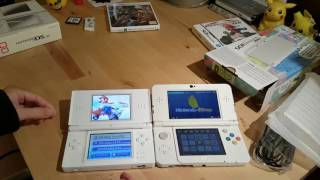 Unboxing and comparing Nintendo New 3DS and DS Lite