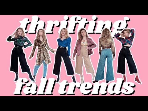 [VIDEO] - THRIFTING FALL TRENDS! fall 2019 trends thrift haul & outfit ideas (PART 2) 2