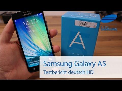 Samsung Galaxy A5 Test Review deutsch HD
