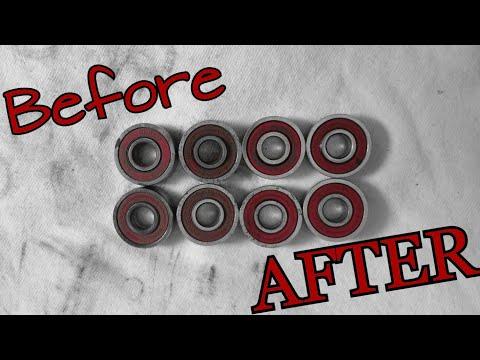 How To Clean Your Skateboard/Longboard Bearings
