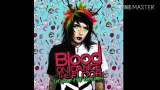 Blood on the dance floor instrumental BOTDF