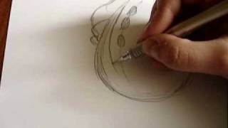 How to draw Arktos The Snowman (Tabaluga)