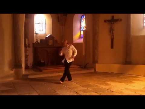 Cie la Méduse - improvisation danse et guitare classique ( Steve Lô & Tristan Eche)