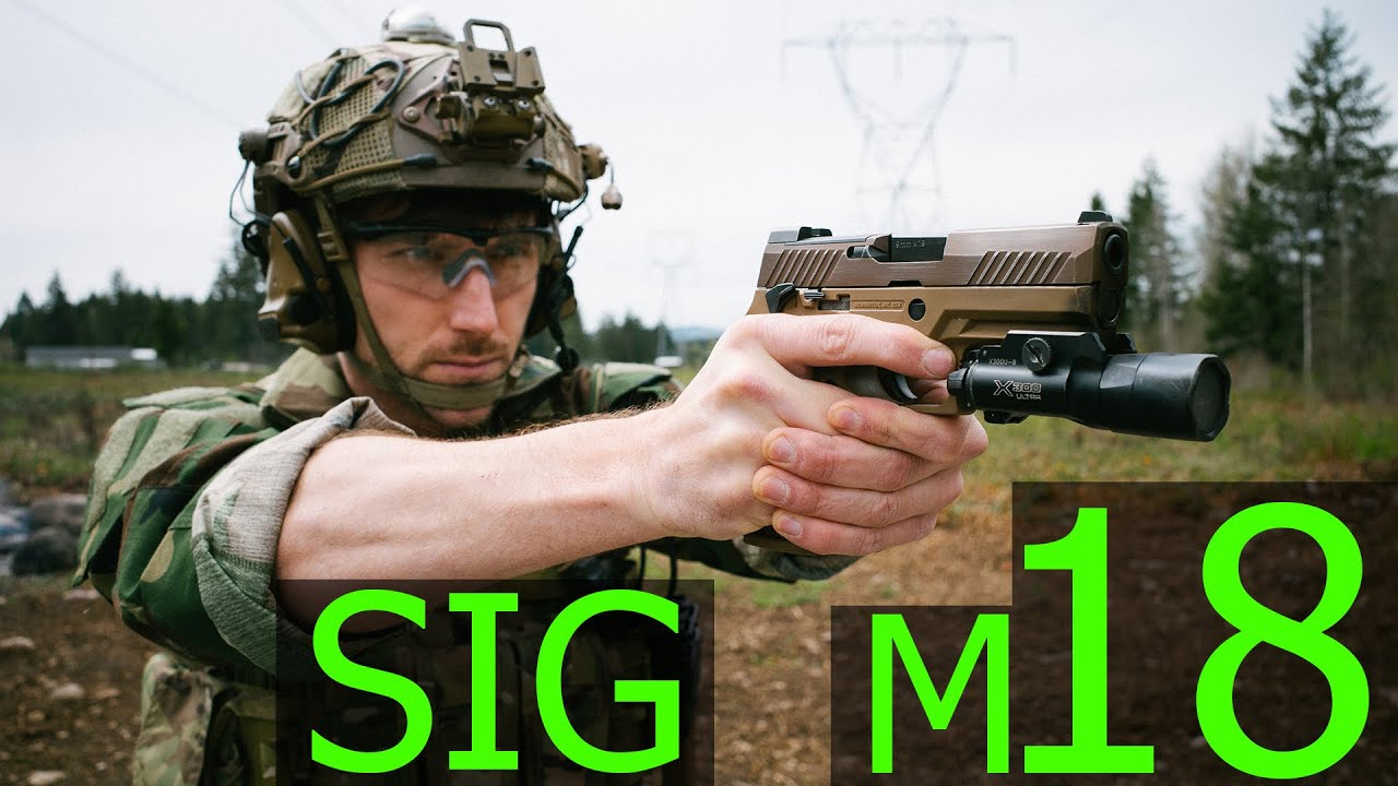 Download The Marine Corps' New Service Pistol, SIG M18