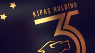Kipaş Holding 35. yıl Logo İntro