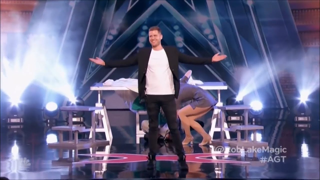 Illusionist Rob Lake Stuns The Judges With His Incredible Magic | America's Got Talent