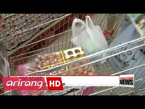 Fears of pesticide-contaminated eggs growing in Korea