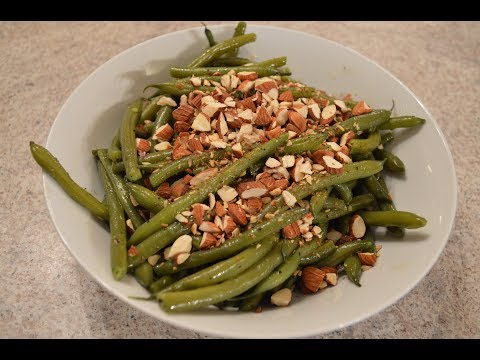 How to Cook Green Beans with Toasted Almonds: Cooking with Kimberly
