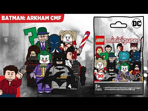 LEGO Batman Arkham CMF Series - Characters From Asylum, City And Knight!