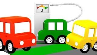 Детские песни про 4 машинки - Моя машина без бензина