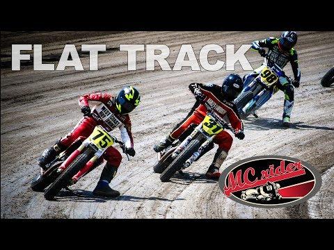 American Flat Track Race - Texas Motor Speedway 2018