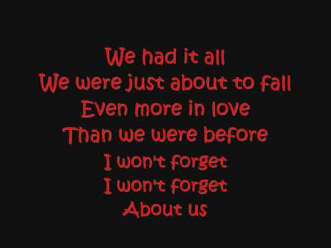 Demi Lovato Dont Forget with lyrics