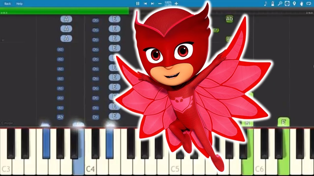 pj-masks-song-hey-hey-owlette-piano-tutorial-npt-music