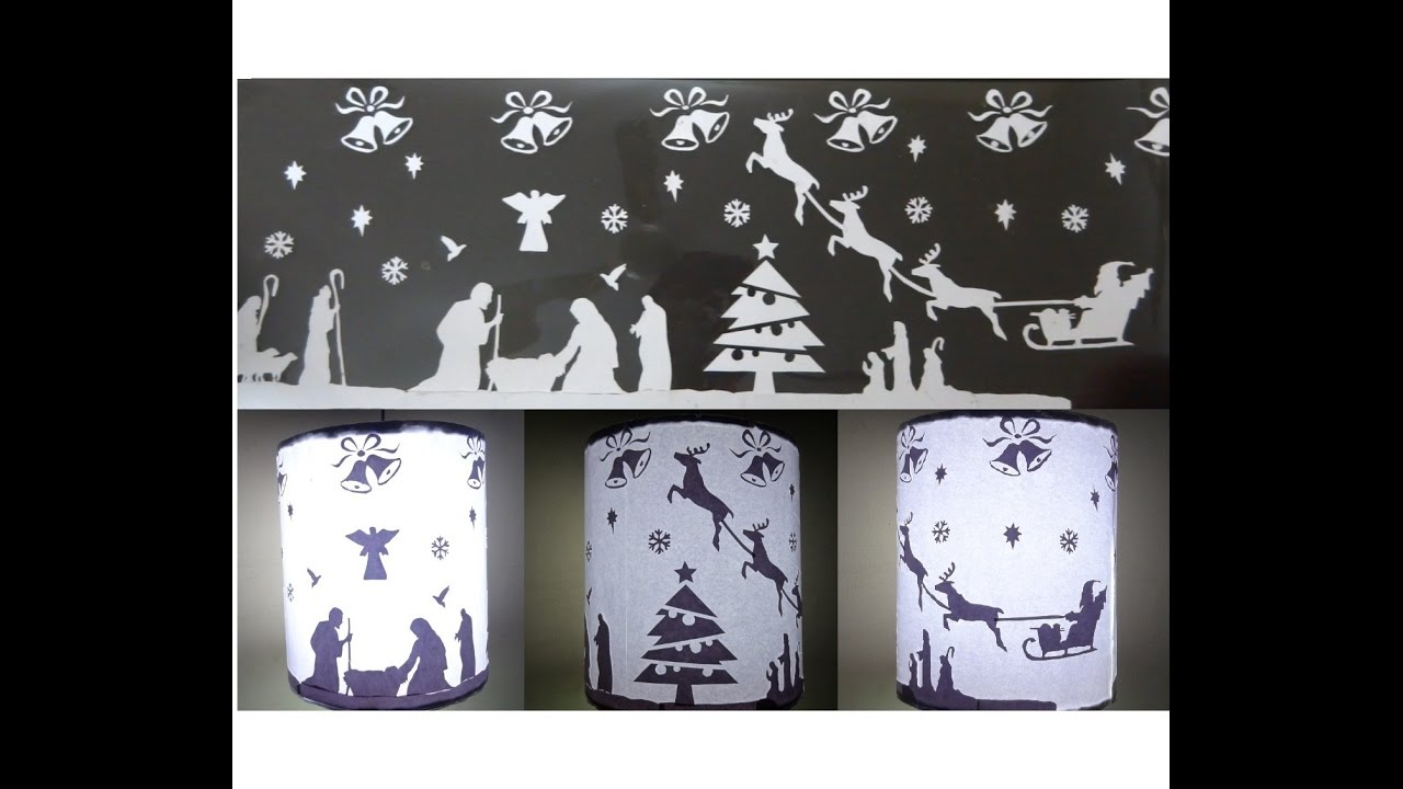 Paper Craftschristmas decorations ideas DIY Christmas Lantern