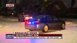 Police search for suspect in Detroit shooting